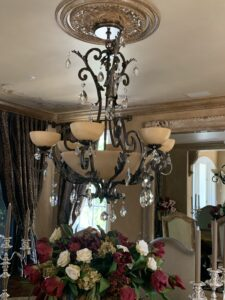 Chandelier Cleaning and Detailing Anaheim Ca.