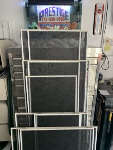 Screen Cleaning and Repair Anaheim Ca.